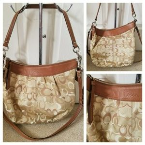 Coach Tan Crossbody Shoulder Bag